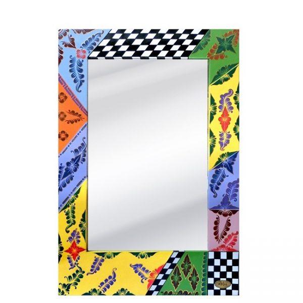 СРЕДНЕЕ ПРЯМОУГОЛЬНОЕ ЗЕРКАЛО / бренд Tom's Drag, арт. T101468